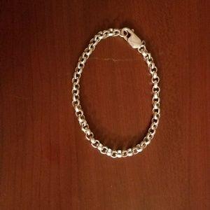 Sterling Rolo Chain Bracelet